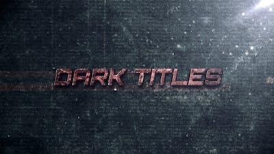 Dark Titles
