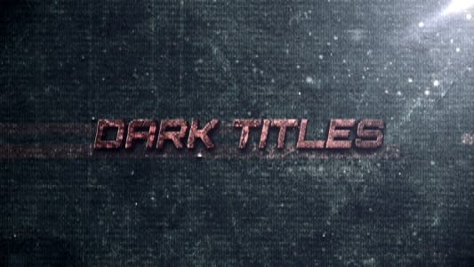 Thumbnail for Dark Titles