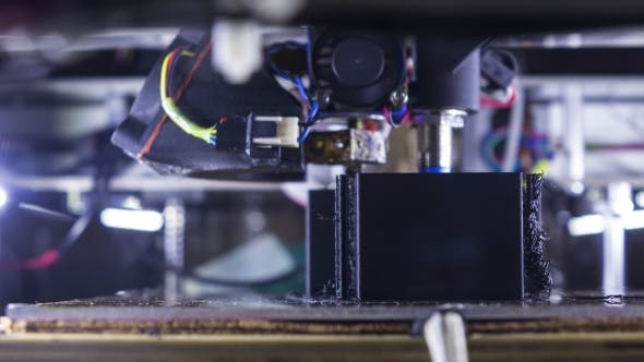 Thumbnail for 3D Drucker in Aktion