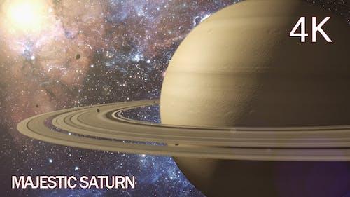 Majestic Saturn