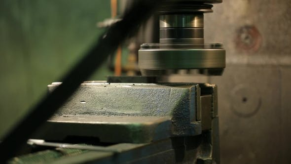 Thumbnail for Process Of Machining Metal Parts On a Vertical Milling Machine.