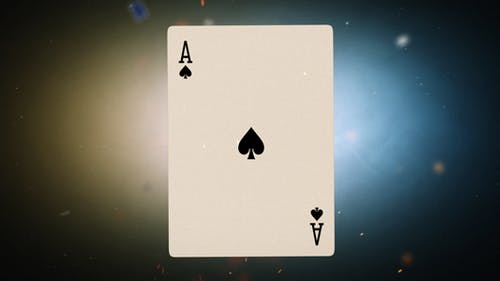 Flying Cards Logo Reveal