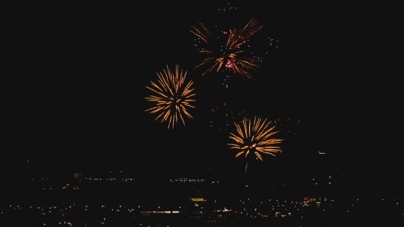 Cover Image for Fireworks Flashing in the Evening