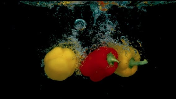 Thumbnail for Three Peppers In  In The Water