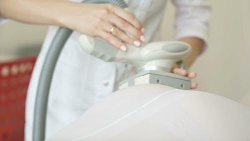 LPG Massage In The Beauty Center. Anti-cellulite Massage.