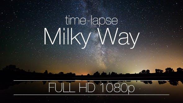 Thumbnail for Night Sky Milky Way Galaxy on Lake