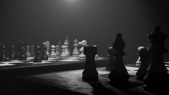 Enjoy In Chess Board 05 4K