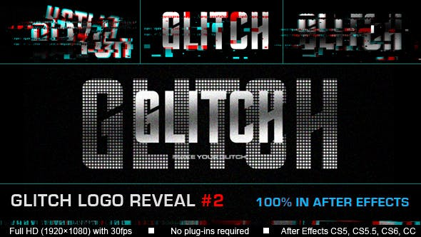 Thumbnail for Glitch Logo reveal #2