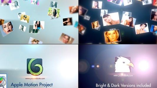 Thumbnail for Multi Slides Logo - Apple Motion