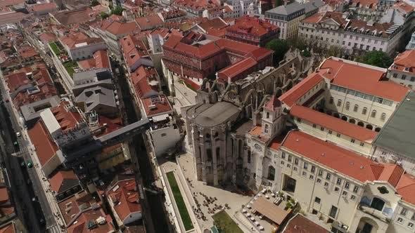 Thumbnail for Carmo Convent and Santa Justa Elevator, Lisbon, Portugal