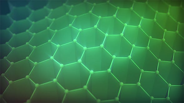 Thumbnail for Hive Waves Background Green