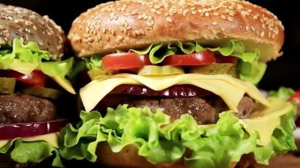 Thumbnail for Beef Burger Meal Pommes Frites