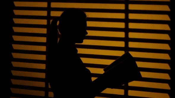 Thumbnail for Girl Leafing Through a Book