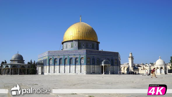 Thumbnail for Dome of the Rock, Temple  Mount, Jerusalem Israel