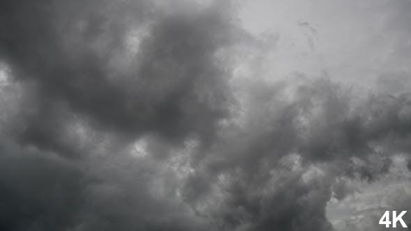 Graue Wolke