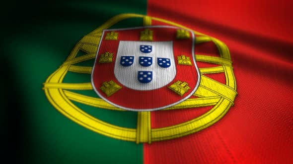 Thumbnail for Portugal Flag Seamless Loop