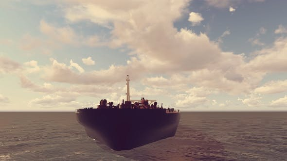Thumbnail for Oil Tanker Animation