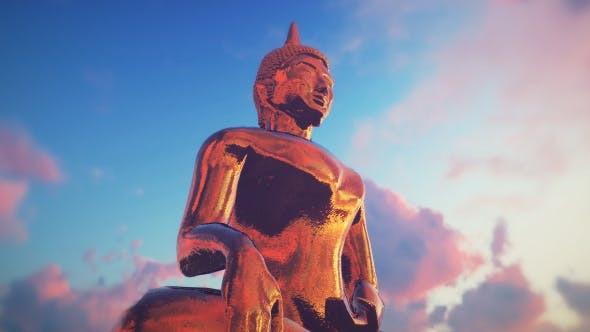 Cover Image for Golden Buddha - Sunset
