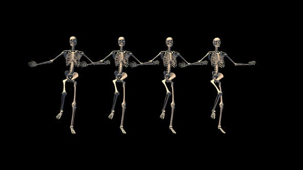 Thumbnail for Skeletons Can Can Dance