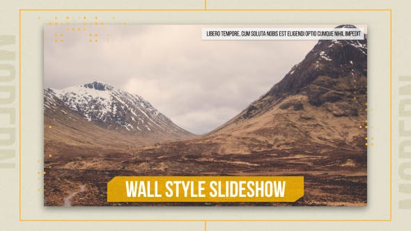 Thumbnail for Wall Style Slideshow