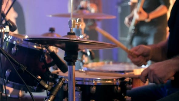 Thumbnail for Drummer Playing Of Drums