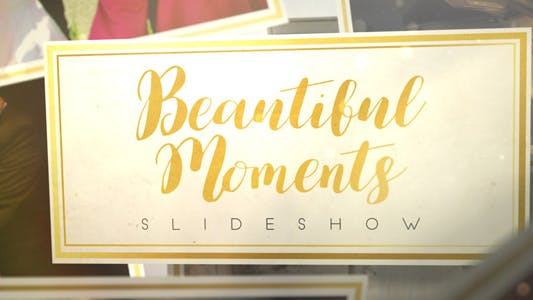 Thumbnail for Beautiful Moments Slideshow