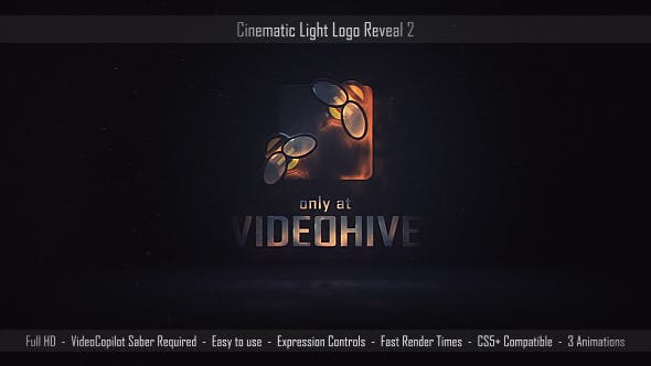 Thumbnail for Cinematic Light Logo Reveal 2