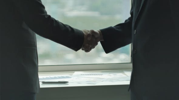 Cover Image for Business Shake Hands