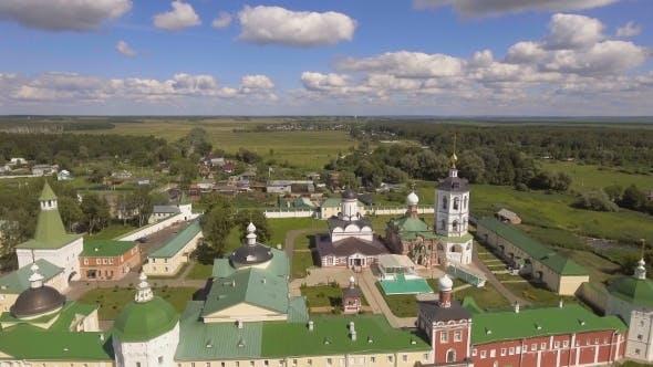 Thumbnail for Orthodox Christian monastery.Aerial View