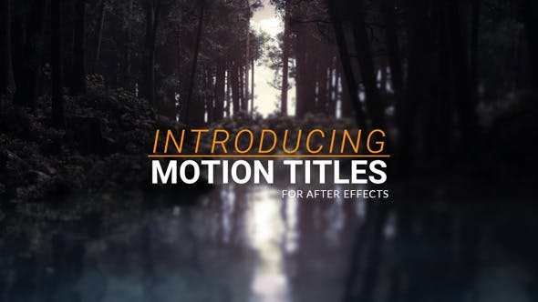 Thumbnail for Motion Titles