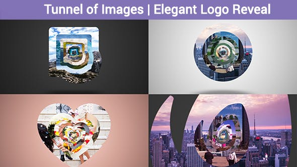 Thumbnail for Tunnel of Images |  Elegant Logo Reveal