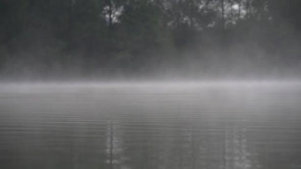Thumbnail for Morning Fog Over The Lake
