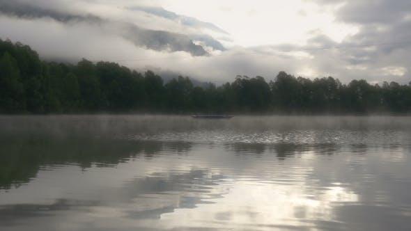 Thumbnail for Mountain Lake With Mirror Reflection