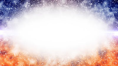 Title Background of Particles