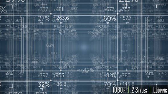 Thumbnail for Grid Matrix of Numbers