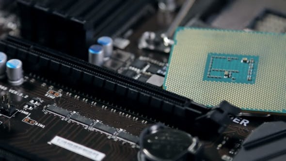 Thumbnail for Cpu And Motherboard f