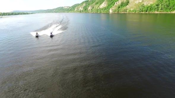 Thumbnail for Two Guys On Jet Skis