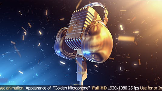 Thumbnail for Golden Microphone