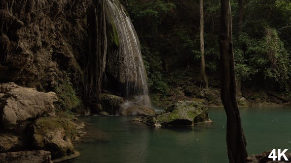 Thumbnail for Waterfall In Rain Forest