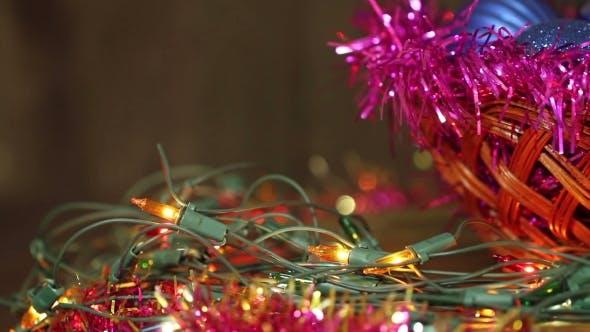 Thumbnail for Christmas Balls And Garland Flashing Tangled