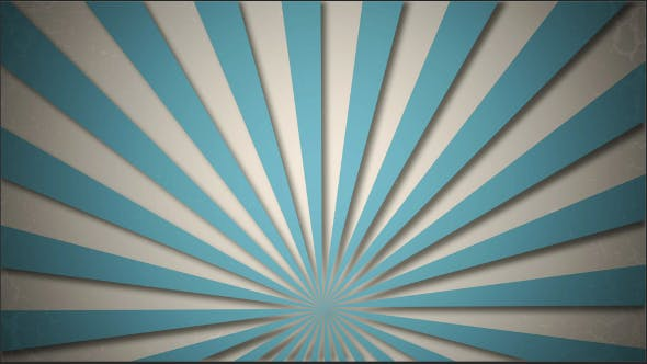 Thumbnail for Creative Blue Sunrays Loopable Background
