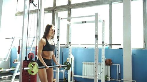 Medium Shot  Tilt-down Tilt-up Men And Women Exercising