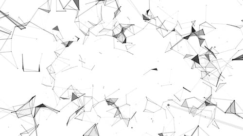 Abstract Network of Polygons