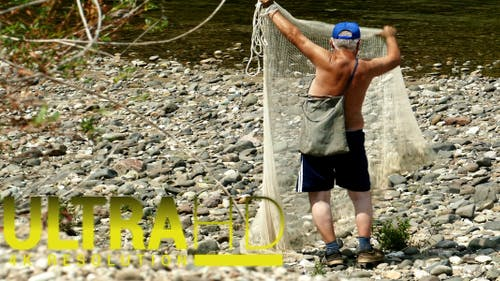 Throwing ( Srekme) Fishing Net 1