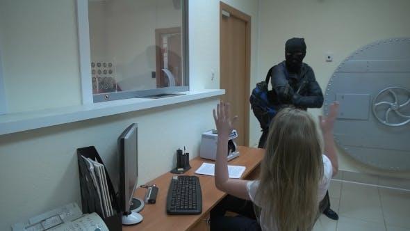 A Man In a Black Mask