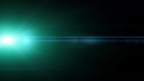 Light Leak Master Prime Lens Flares Moving in the center isolated on a black background