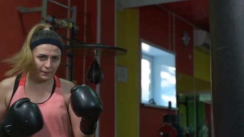 Girl Beats a PEAR In The Gym