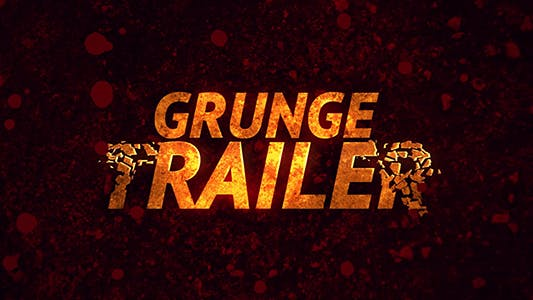 Cover Image for Grunge Trailer