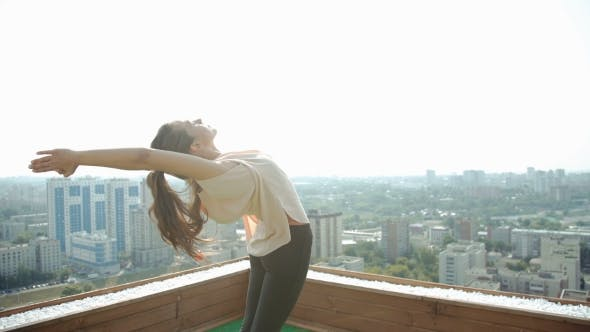 Thumbnail for Woman Yoga - Relax In Nature. 20S.