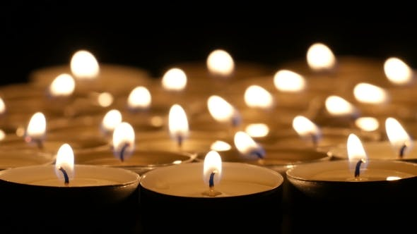 Thumbnail for Candle Burning At Night